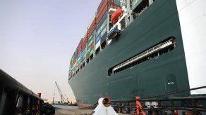 Descartan un fallo técnico en el accidente del buque en el Canal de Suez