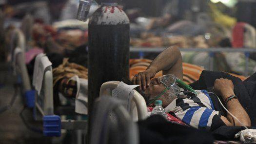 Algunos estados de India han ordenado a los hospitales públicos que preparen salas de tratamiento separadas para los pacientes infectados con el hongo negro.
