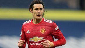 Cavani orgulloso de vestir camiseta del Manchester United