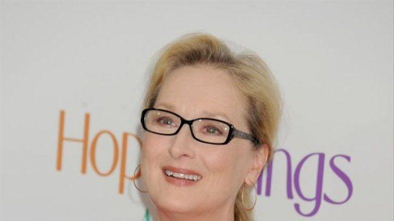 Meryl Streep fuma y bebe para ser mejor actriz