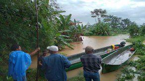El MIDA informó que el desborde de cinco ríos debido a las fuertes lluvias ha ocasionado daños a la producción en Bocas del Toro.