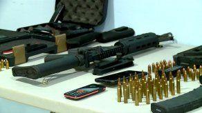Dictan medidas cautelares a ocho personas por caso de tráfico de armas