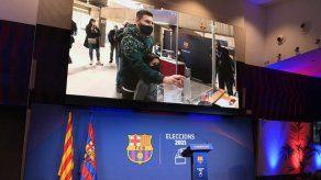 El voto de Messi renueva las esperanzas de los barcelonistas