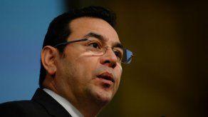 Jimmy Morales cree que hay paramilitares apoyando a narcos en Guatemala