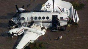Cinco personas murieron en accidente de avión privado en el Río de la Plata