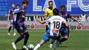 Espanyol pierde en casa con Levante y se aleja de la salvación