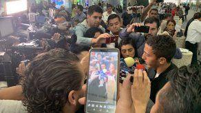 Con gran expectativa llegó Ángel Orelien a México para unirse al Cruz Azul