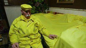 El misterioso hombre de amarillo de Alepo