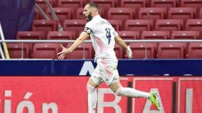 El Real Madrid empata sobre la campana 1-1 con el Atlético