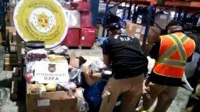 Aduanas decomisa más de B/.250 mil en mercancía falsificada en bodega del aeropuerto de Tocumen