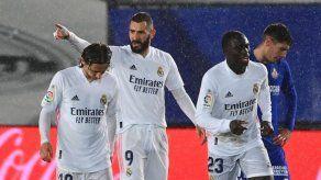 El Real Madrid vence al Getafe y levanta los ánimos en LaLiga