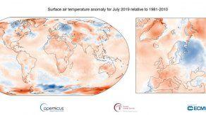 Julio 2019 fue el mes más caluroso registrado en la historia