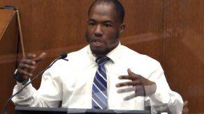 Testigo: George Floyd se desvaneció lentamente