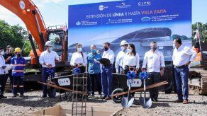 Inician trabajos para extensión de Línea 1 del Metro de Panamá hasta Villa Zaita