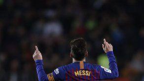 Barcelona cierra el año con triunfo y liderato de la Liga