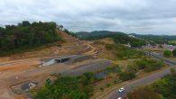 Los trabajos en Loma Cová por construcción del proyecto de Estudio, Diseño, Construcción y Mantenimiento de Obras para la Ampliación y Rehabilitación de la Carretera Panamericana. Tramo: Puente de Las Américas-Arraiján.