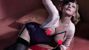 Madonna hace topless para la revista Interview