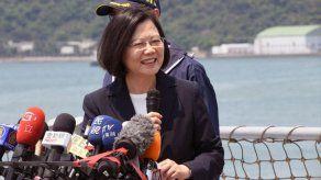 Presidenta taiwanesa se dice dispuesta a reunirse con Xi Jinping por la paz