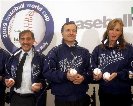 Italia impulsa el mundial de béisbol