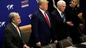 Trump llega por sorpresa a la cumbre del clima de la ONU
