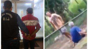 Aprehenden a un hombre por agresión contra un familiar en Chiriquí