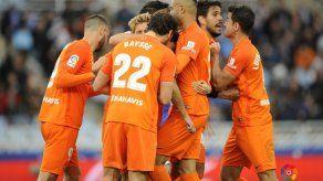 Málaga sale del sótano con victoria ante Real Sociedad