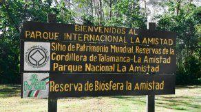 Suspenden acceso al Parque Internacional La Amistad por condiciones climáticas