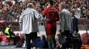 Juventus: Cristiano Ronaldo sufrió una leve lesión