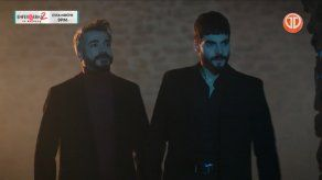 Miran y Firat encaran a Cihan luego de disparar al hombre que intentó matar a Miran con el camión.