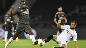Pogba en duda para 1er duelo de Manchester United en Premier