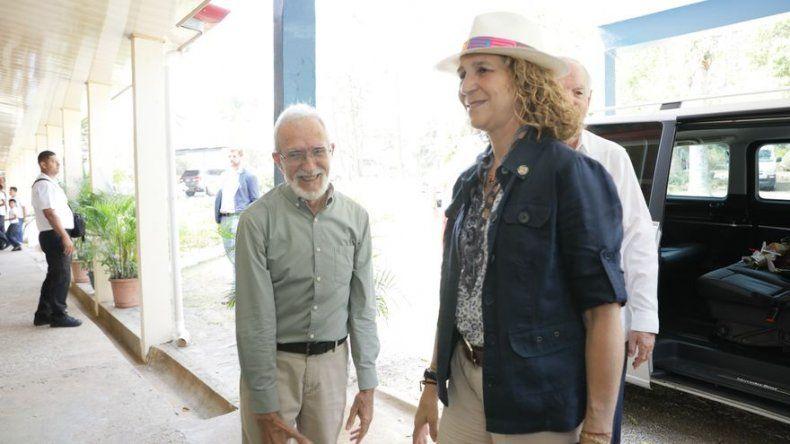 Doña Elena De Borbón, visita Ciudad Del Niño, proyecto que apoya Fundación Mapfre