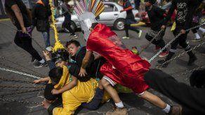 Católicos nicaragüenses vengaron la muerte de Jesús con una pintoresca tradición