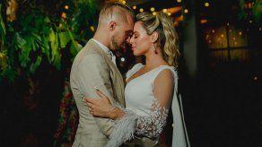 Gaby Garrido y Patrick Vollert se casan en una boda íntima