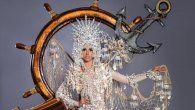 Presentan a La Niña, la Pinta y la Santa María, traje de fantasía que llevará Señorita Panamá a Miss Universo