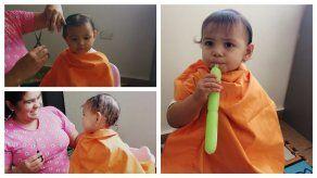 ¿Cuándo y cómo cortar el cabello de nuestro (a) bebé por primera vez?