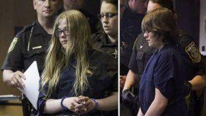 Chicas en EEUU se declaran inocentes de apuñalar a otra
