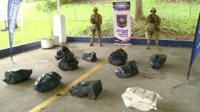 Senan incauta 190 paquetes de sustancia ilícita en Taboga