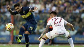 Boca gana y va en busca del líder en la Superliga argentina