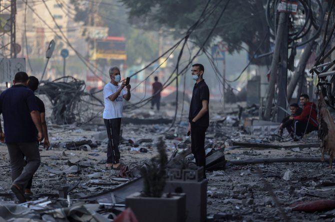 Las milicias palestinas han lanzado más de un millar de misiles