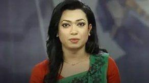 Una presentadora transgénero de Bangladés debuta en la pantalla