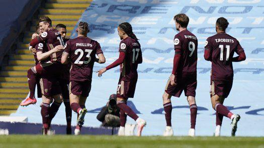 Sorpresiva derrota del Manchester City vs Leeds en la Premier League