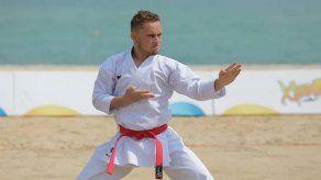 El karateca panameño Héctor Cención dio positivo en la prueba de COVID-19