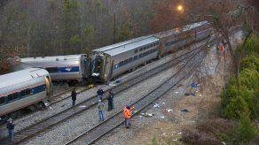 Desastre ferroviario en Carolina del Sur deja 2 muertos