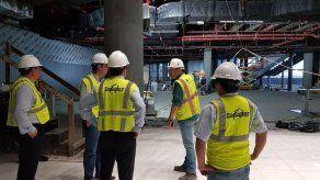 Nuevo gerente del Aeropuerto de Tocumen inspeccionó obras inconclusas