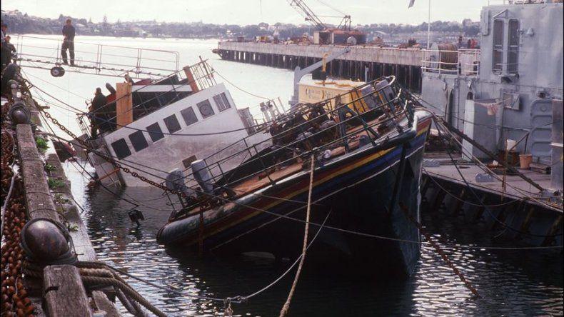Un agente que hundió el Rainbow Warrior de Greenpeace en 1985 se disculpa