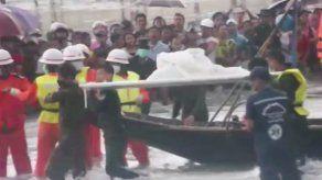 Lluvias obstaculizan rescate de avión siniestrado en Mianmar