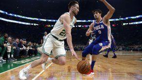Hayward e Irving vuelven; Celtics abren campaña con triunfo