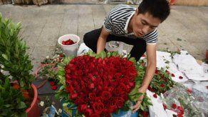 Para el San Valentín chino