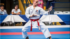 Karateca Héctor Cencion