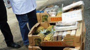 Decomisan 250 kilos de cocaína destinada a Francia